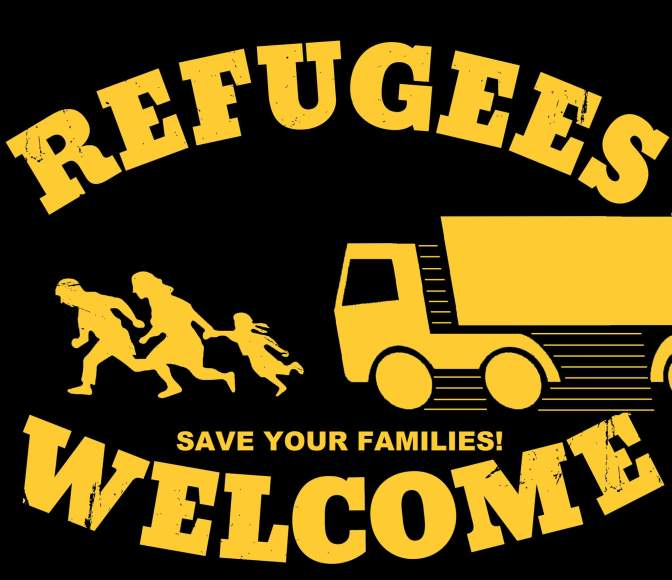 Refuegees Welcome, Save your families