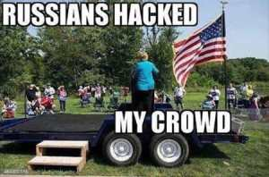 Russians hacked my crowd