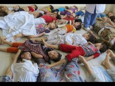 children syria gas