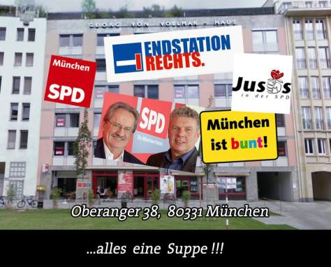 80331 Oberanger 38: SPD, MIB, Endstation